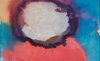 Vivian Springford, Untitled (Cosmos Series), 1984, acrylic on canvas, 36 x 42 inches (courtesy of Almine Rech Gallery)
