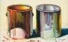 Wayne Thiebaud, Two Paint Cans, 1987 (courtesy of White Cube, © Wayne Thiebaud/DACS, London/VAGA, New York 2017)