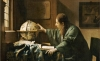 Johannes Vermeer, The Astronomer, 1668, oil on canvas, 19 11/16 x 17 11/16 inches (Musée du Louvre, Paris)