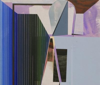 (detail) Rubens Ghenov, Martaprmarwa, 2016, acrylic on linen, 20 x 16 inches  (courtesy of Morgan Lehman Gallery)
