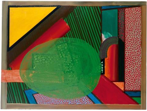 Howard Hodgkin, Mr and Mrs E. J. P., 1969-1973 (Tate Gallery, 1996/Howard Hodgkin)