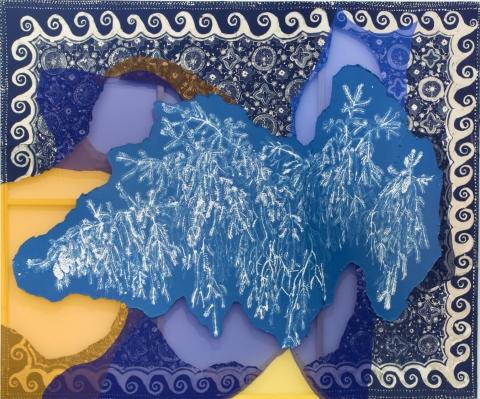 Lauren Luloff, Blue Spruce, 2017 (courtesy of the artist and Ceysson & Bénétière)