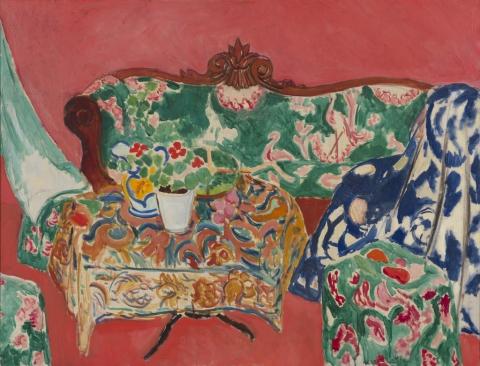 Henri Matisse, Seville Still Life, 1910–11, oil on canvas (© Succession H. Matisse/State Hermitage Museum, Saint Petersburg)