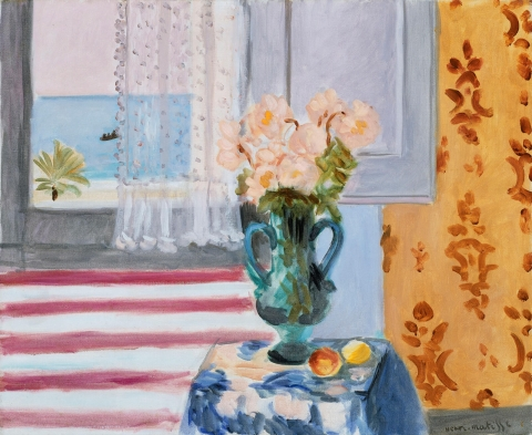 Henri Matisse, Vase of Flowers, 1924 (Museum of Fine Arts, Boston)