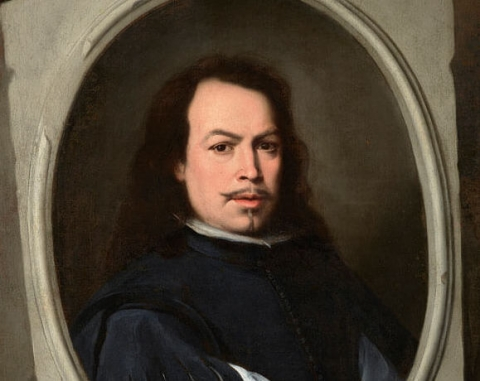 (detail) Bartolomé Esteban Murillo, Self-Portrait, c. 1650-5, oil on canvas, 107 x 77.5 cm (The Frick Collection, New York, Gift of Dr. and Mrs. Henry Clay Frick II, 2014., © The Frick Collection, New York)