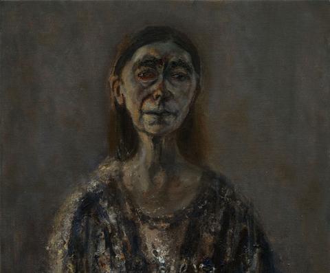 (detail) Celia Paul, Self Portrait, April 2016, oil on canvas, 91.6 x 61 x 3.6 cm (courtesy the artist and Victoria Miro, London. © Celia Paul)