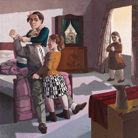 Paula Rego: The Family, 1988 (courtesy of the artist and Marlborough International Fine Art)