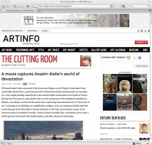 Cutting Room Art Film blog