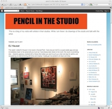 Pencil in the Studio Art Blog