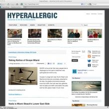 Hyperallergic art blog