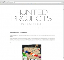 Hunted Projects art blog