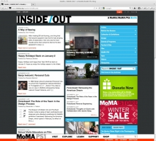MoMA Inside/Out Art Blog