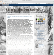 Thoughts That Cure Radically art blog