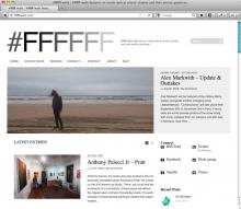 FFFFFF Walls art blog