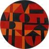 Carmen Herrera, Iberic, 1949, acrylic on canvas on board, diameter: 40 inches (101.6 cm) (courtesy of the artist and Lisson Gallery. © Carmen Herrera)