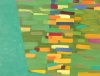 Kayla Mohammadi, Cityscape, 2008, Oil on wood, 12 x 16 inches