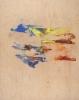 George Hofmann, Codex Major 7, 2012 acrylic on birch board, 48 x 38 inches (cour