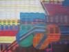 Kayla Mohammadi, The Forbidden City I, 2010-2011, Acrylic and oil on canvas, 60