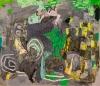 Alfredo Gisholt, Vegetaciones, oil on canvas, 72 x 84 inches, 2013 (courtesy of