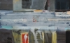 Patrick Jones, Grey Painting, 2011, 60 x 96 inches, acrylic on canvas (courtesy