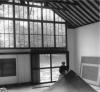Perle Fine in her studio, Springs, New York, 1962, photo Maurice Berezov © A. E.
