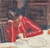 Pierre Bonnard, The Red Blouse, 1925 (Musée national d'art moderne, Paris)