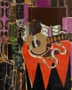 Georges Braque, Mandolin and Score (The Banjo), 1941 (Collection of Charles & Pa