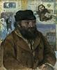 Camille Pissarro, Portrait of Cézanne, 1874, oil on canvas, 28 3/4 x 23 5/8 inch