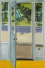 Bernard Chaet, July Door, 1970, oil on canvas, 36 in x 24 inches (courtesy of Le
