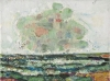 Bernard Chaet, Green Cloud, 2005-06, oil on canvas, 9 in x 12 inches (courtesy o
