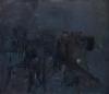 Ryan Cobourn, Neighborhood, 2012 Oil on canvas, 46 x 52 inches (courtesy Steven