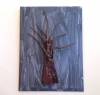 Fletcher Copp, Tree in an Iron Monger's Yard, mixed media, 16 x 12 x 2 inches, 2