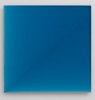 David von Schlegell, Cerulean Blue, Light to Dark, 1992, Oil, Polyur on Wood Pan