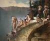 Vincent Desiderio, Bathers, 2017, oil on canvas, 57 x 69 inches (© Vincent Desiderio, courtesy Marlborough Gallery, New York)