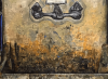 (detail) Simon Dinnerstein, The Sink, oil on wood panel, 96 x 48 inches, 1974 (photo: Matthew Ballou, courtesy of the artist)