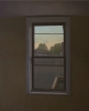 Mike East, Window View at Sunset, 2008, oil on panel, 32 3/4 x 40 1/4 inches (co