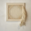 Edward Shalala, Untitled, pulled thread, 12 x 12 inches, 2009