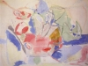 Helen Frankenthaler, Mountains and Sea, 1952, Oil and charcoal on canvas, 86 x 1