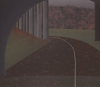 Maud Gatewood, Autumn Tunnel, acrylic on cotton canvas, 50 1/8 x 56 1/8 inches,