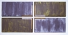 Dana Gordon, 1969-70, untitled, 29 x 61 inches, acrylic on canvas (4 panels) (co