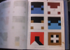 Frederick Hammersley's sketch book of paintings (video screen capture © Vanessa