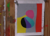Frederick Hammersley, painting study (video screen capture © Vanessa H. Smith)