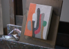 Frederick Hammersley painting (video screen capture © Vanessa H. Smith)