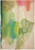 Helen Frankenthaler, Snow Pines, 2004, Thirty-four water based color Ukiyo-e sty