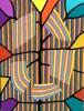 Doug Holst, Foliage, acrylic on canvas, 24 x 18 inches, 2013 (courtesy of The Pa