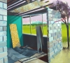 Grant Hottle, Makeout Spot, 2010, oil on canvas, 36 x 40 inches (courtesy of the