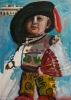Jon Imber, Gabe the Bullfighter with Flapdoodles, (El Cordobés de Somerville), 1