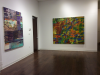 Installation View: Eating Painting (left to right: Russell Roberts, James Bieder