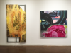 Installation View: Eating Painting (left to right: Ben La Rocco, Fran O'Neill)