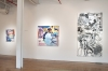 Installation View: Zachary Keeting: Recent Paintings at Giampietro Gallery